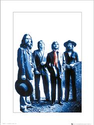 The Beatles Red Scarf - plakat premium
