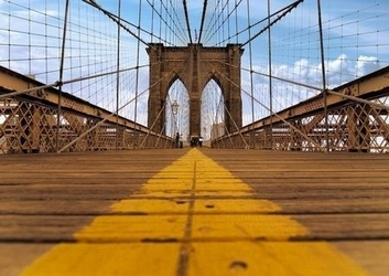 Most brukliński - fototapeta