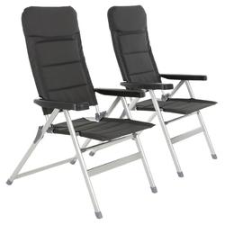 Zestaw 2 składanych krzeseł kempingowych, wyjątkowo wytrzymałe