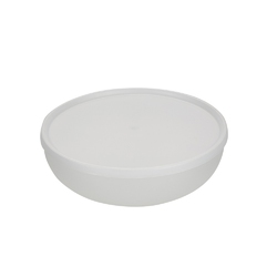 Miska plastikowa z pokrywą do przechowywania sagad 1,85 l biała