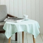 Obrus  serweta na stół altom design kwadratowy bawełniany miętowy 80 x 80 cm