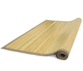 Mata bambusowa, dywanik bambusowy 120 x 180 cm, kolor naturalny
