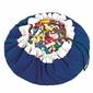 Worek na zabawki playgo - niebieski