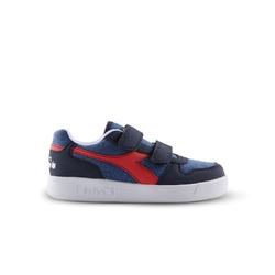 Sneakersy dziecięce diadora playground cv ps - niebieski