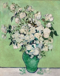 Roses, vincent van gogh - plakat wymiar do wyboru: 50x70 cm