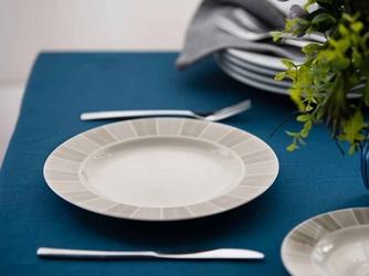 Talerz obiadowy płytki porcelana mariapaula ecru alison 26 cm