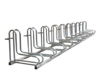 Stojak na rowery elka - 10 miejsc  rowerowych ocynk elka stojak 10-miejscowy