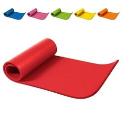 Mata do ćwiczeń 12 kolorów fitness jogi 190x60x1,5 cm antypoślizgowa