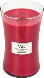 Świeca core woodwick radish  rhubarb duża