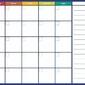 Tablica magnetyczna planer suchościeralny tygodniowy 269