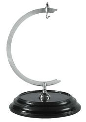 Authentic models stojak na zegarek eye of time i globus, nikiel gl000c