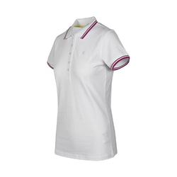 Koszulka damska diadora l.polo ss pq - biały