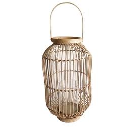 Lampion  latarenka rattanowa altom design 24 x 25 cm