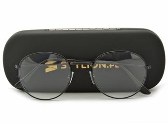 Okulary lenonki z filtrem światła niebieskiego do komputera zerówki r-bl-506k-1