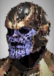 Polyamory - thanos, marvel - plakat wymiar do wyboru: 40x60 cm