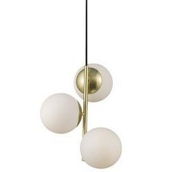 Nordlux :: lampa wisząca lilly mosiężna wys. 36,5 cm