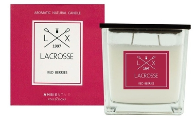 Świeca zapachowa red berries 10x10 lacrosse - red berries