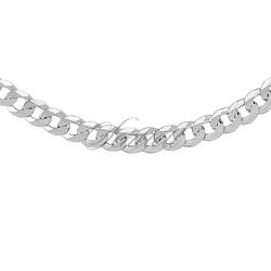 Pancerka diamentowana płaska pr. 925 ø 0160 rodowana - 6,7 mm