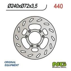 Ng440 tarcza hamulcowa beta 50 240x72x3,5