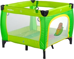Caretero quadra green kojec dla dziecka + puzzle