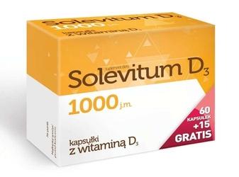Solevitum d3 1000j.m. x 60 kapsułek + 15 gratis