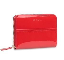 Mały damski portfel valentini like a diamond - czerwony