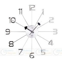 Zegar ścienny jvd ht072  średnica 49 cm
