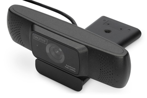 Digitus kamera internetowa full hd 1080p 30hz autofokus szeroki kąt widzenia 90 usb a 2.0