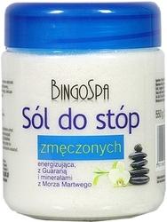 Bingospa sól do stóp zmęczonych z guaraną i minerałami 550g