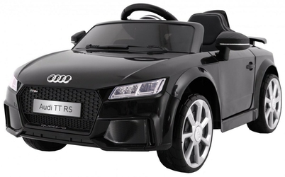 Audi quatro tt rs czarny samochód na akumulator + pilot