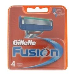 Gillette fusion wkład do maszynki dla mężczyzn 4 szt.