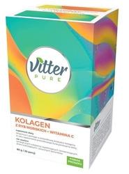 Vitter pure kolagen z ryb morskich+witamina c 80g20 porcji