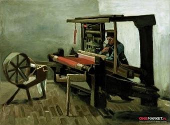 tkacz - vincent van gogh ; obraz - reprodukcja