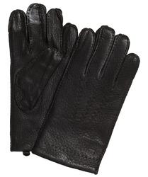 Eleganckie brązowe męskie rękawiczki profuomo z technologią screen touch 8,5