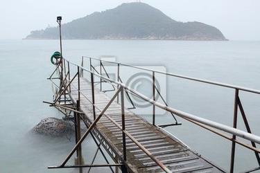 Fototapeta hong kong basen shed w morzu