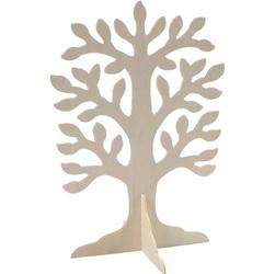 Drewniane drzewo 29,6x21,5 cm