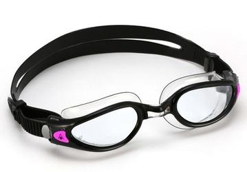 Aquasphere okulary kaiman exo lady jasne szkła - czarny