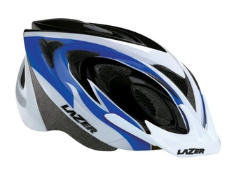 Kask mtb lazer 2 x3m blue white black