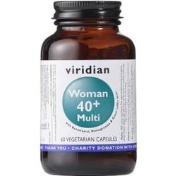 Dla kobiet woman 40+ multi 60 kapsułek, suplement diety viridian
