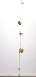 Bransoletka złota pr. 585 tzw. celebrytka