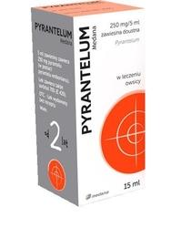 Pyrantelum medana 250mg5 ml zawiesina doustna 15ml