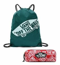 Zestaw Worek szkolny Torba Vans Banched Bag + Piórnik Vans