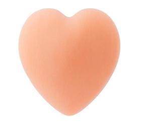 Mydło w kształcie serca z olejkiem z owoców dzikiej róży i nasion granatu pomarańczowe 65g