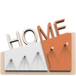 Wieszak na klucze Home CalleaDesign terakota  biały 18-001-24