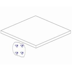 Mini półka do szafy