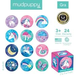 Mudpuppy gra mini memory magiczne jednorożce