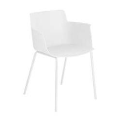 Krzesło  z podłokietnikami anne białe
