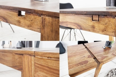 Rozkładany, drewniany stół lagos 120-200 cm