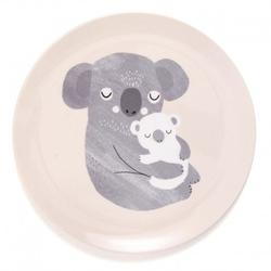 Petit monkey - talerz płaski z melaminy koala