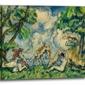 The battle of love, paul cézanne - obraz na płótnie